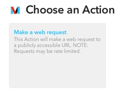 Web Request Action
